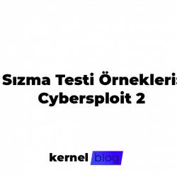 Sızma Testi Örnekleri Cybersploit 2