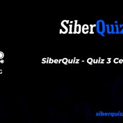 SiberQuiz - Quiz 3 Cevaplar