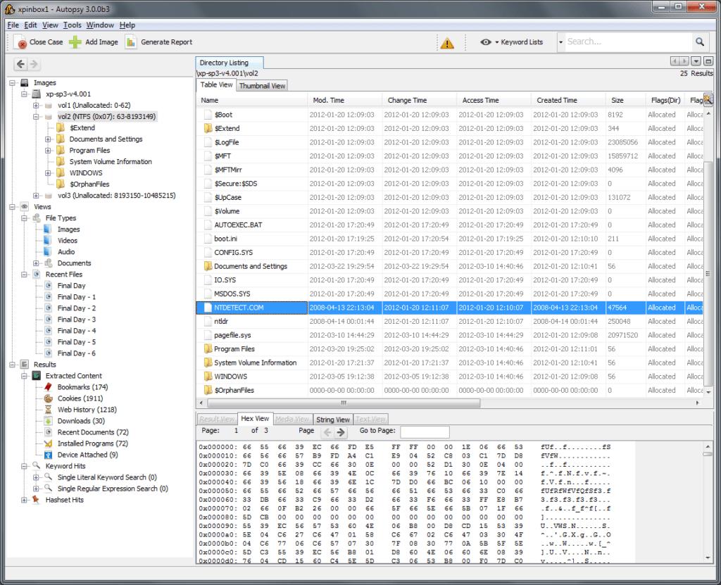 AutoPsy: Adli Bilişim Aracı